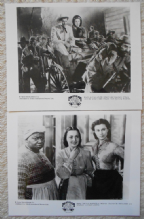Gone With the Wind, 2 Original Movie Stills, 50th Anniversary, Vivien Leigh, '89